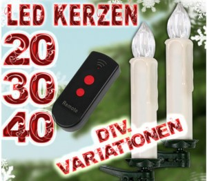 kabellose led lichterkette fernbedienung mit z b 20 kerzen f r 25 95 euro kostenloser. Black Bedroom Furniture Sets. Home Design Ideas