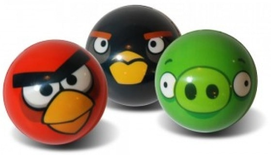angry birds stressball, anti-stressball, vogel stress