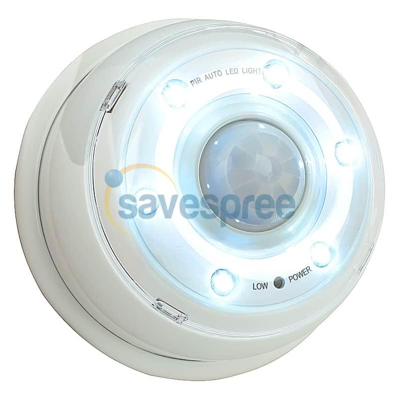 led lampe bewegungsmelder, 6 led automatisch, verzögerung bewegung, led leuchte batterie