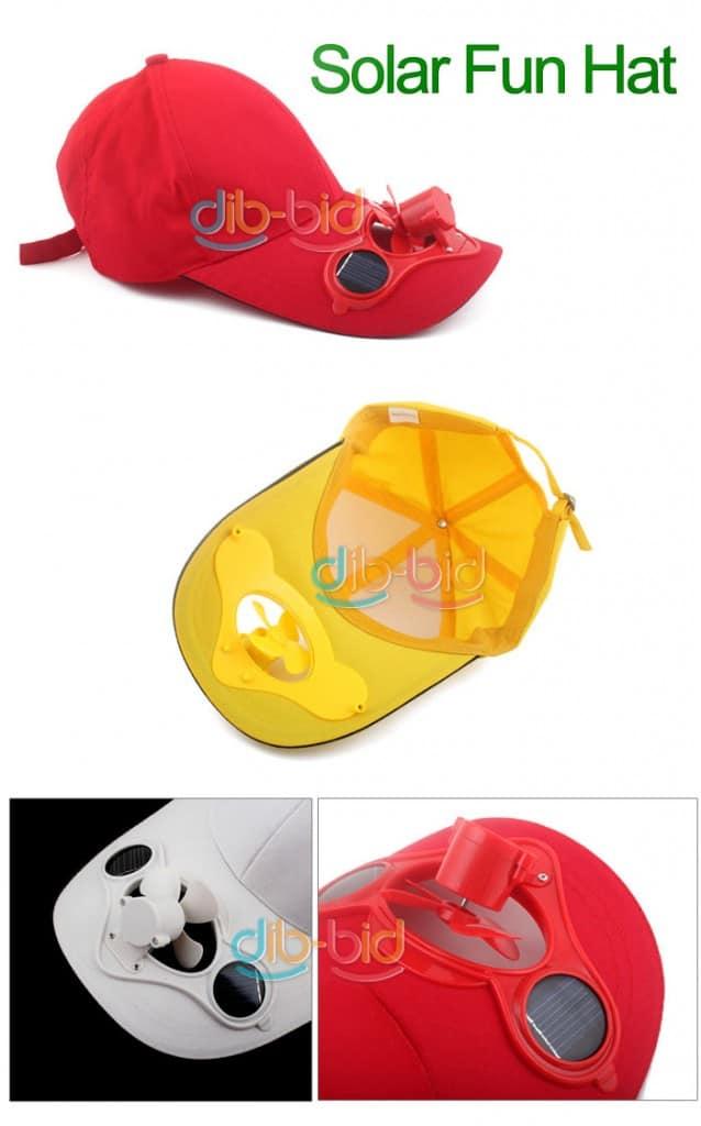 Solar Kappe Ventilator, bester Preis Shop, kostenloser Versand, Werbegeschenke