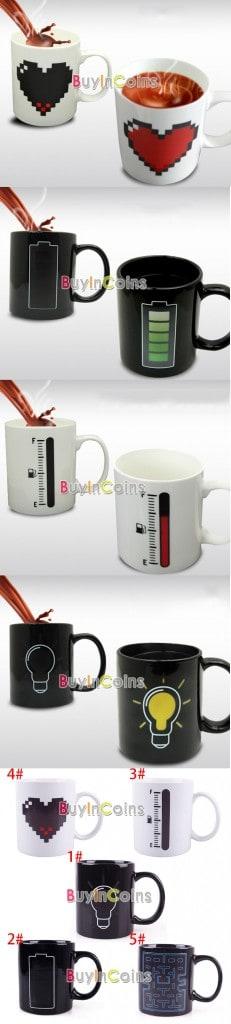 bester preis , bester Preis im Internet , china , china-gadget , china-gadgets , gadgetwelt , gadgetwelt.de , Geschenkidee Kaffeetrinker Kaffee Becher Tasse Farbe , Schnaeppchen , Temperatur-Farbwechsel -Tassen Becher Kaffee , verrückte Geschenke