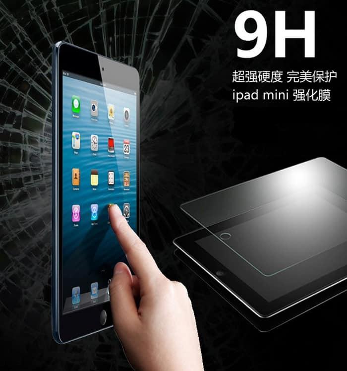 Schutzglas, iPad, Echtglas Displayschutz, Display Gals, wie Gorilla