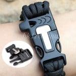 Paracord Feuerstarter, Armband Paracord günstig, Feuerstarter Magnesium, Gadgets Outdoor, Survival, bester Preis
