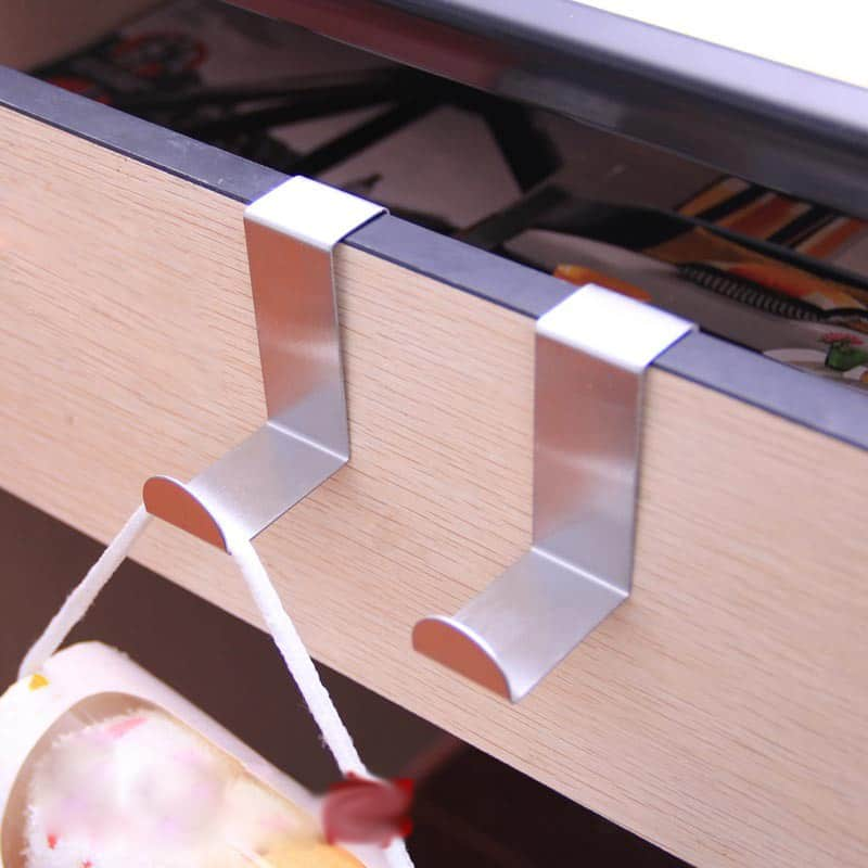 kleiderhaken f r die t r oder handtuchhalter an. Black Bedroom Furniture Sets. Home Design Ideas