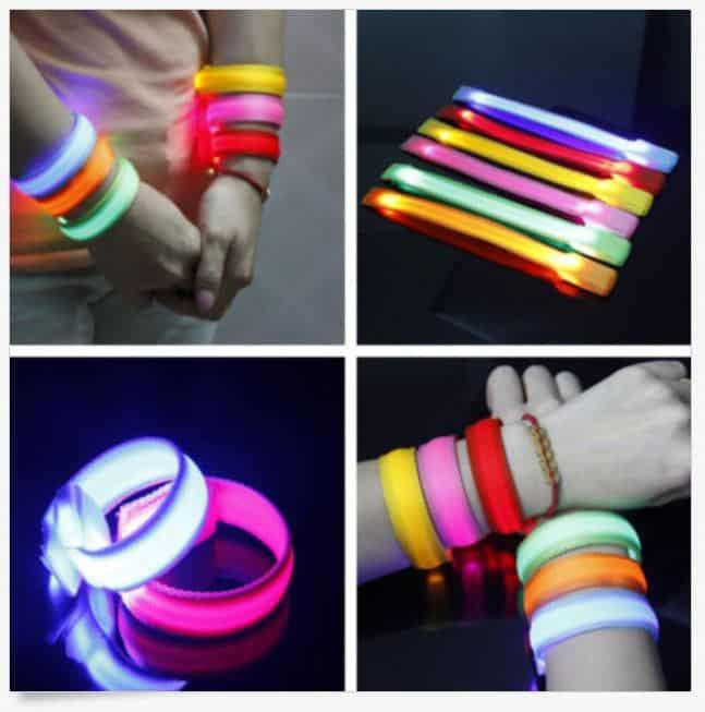 Armband LED Leucht, Party, Rave, Leuchtarmband, günstige Gadgets, China bestellen, Schnäppchen, Angebot, bester Preis