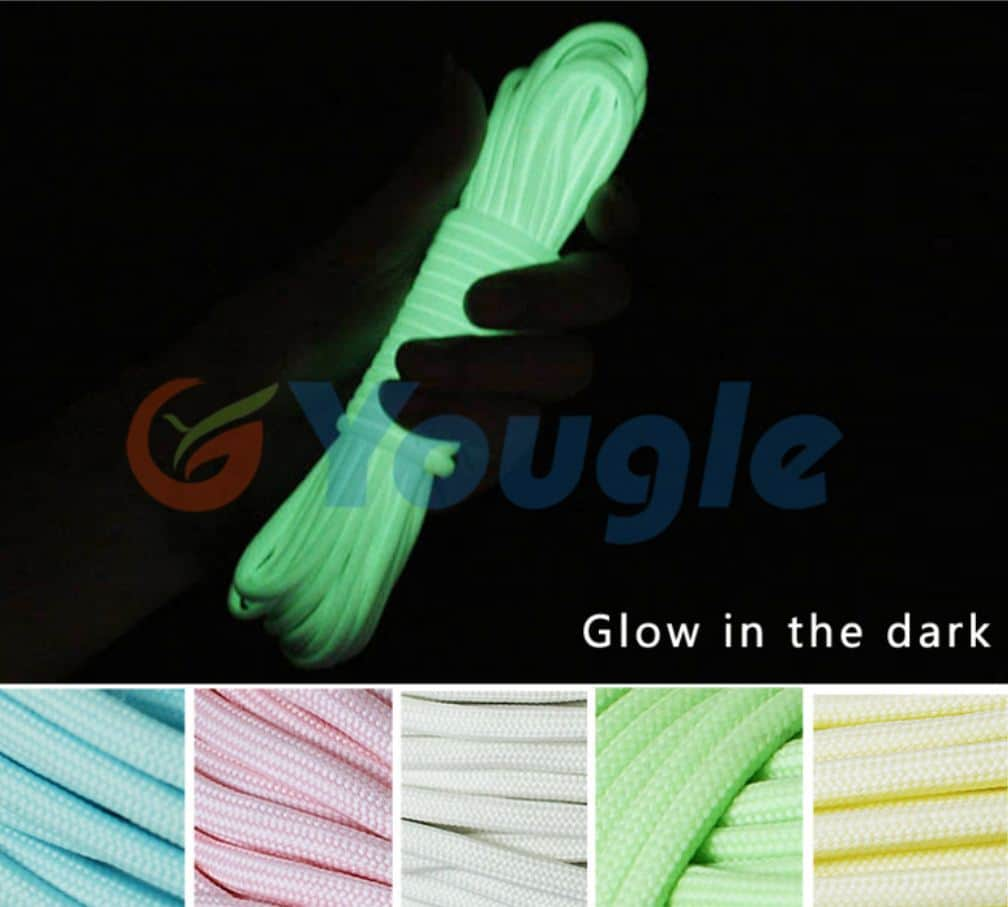 Glow in the dark, Paracord, 30 Meter, China
