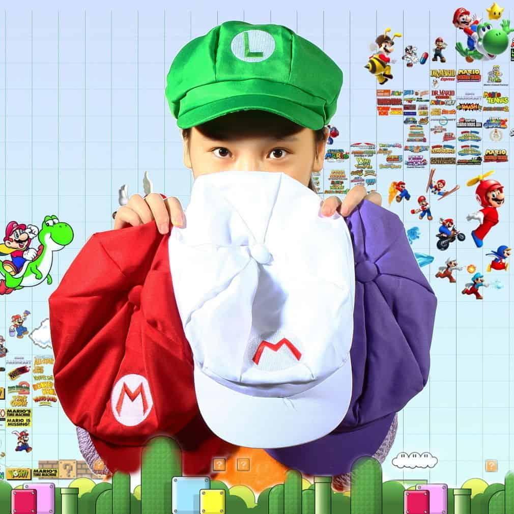 Super Mario Kappe, Gadgets, Chinagadgets, Gadgetwelt, Bester Preis, Fasching, Karneval