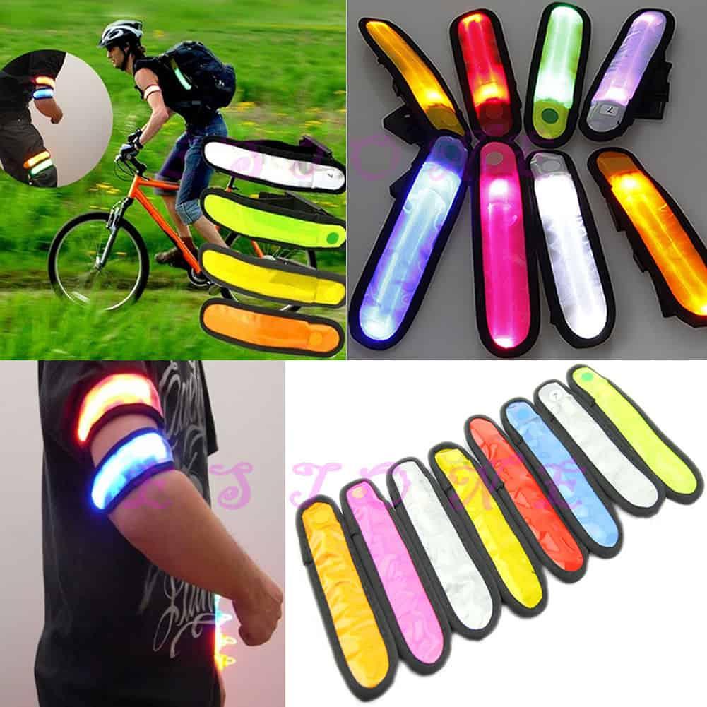 Jogger LED Licht Auto, LED Armband, Sicherheit Schulweg
