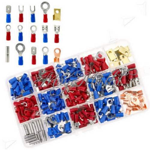 300tlg. Kabelschuhe , Quetschverbinder ,Steckverbinder ,Sortiment Box ,Flachstecker,gadget,gadget-welt,gadgets,gadgetwelt,gadgetwelt.de,geschenk, Crimp