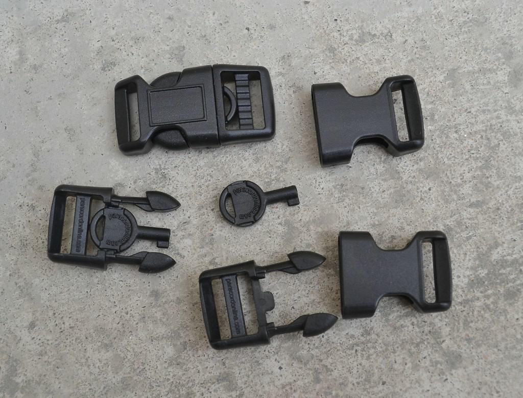 Handschellenschlüssel Polymer, günstig bester Preis, Paracord Armband versteckter Schlüssel Handschellen. Gadget, Survival, Entführung Handschellen