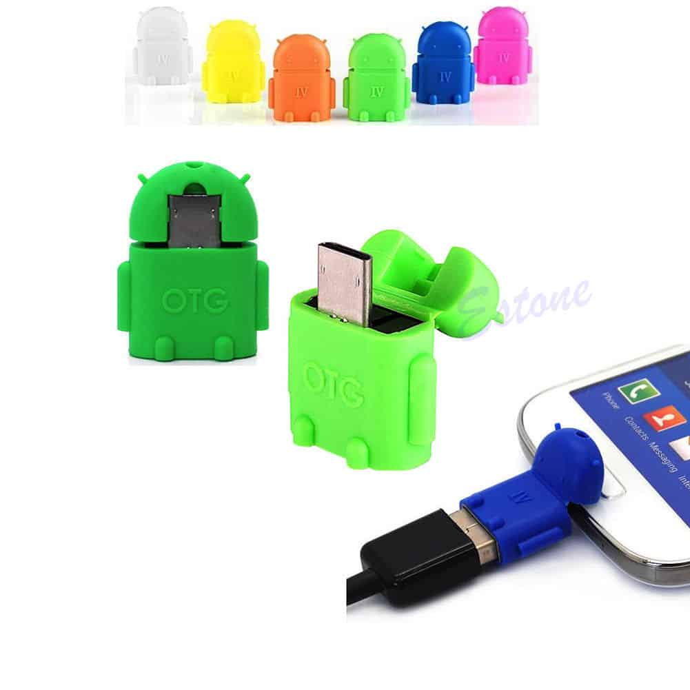 OTG Adapter Android, Roboter Design OTG, USB , Gadgets China, Gadgetwelt, Schnäppchen, Sonderangebote, Gratis Versand