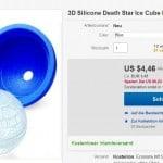Death Star Eiswürfel, Todesstern Eiswürfel, bester Preis, China Silikon Eiswürfelform, Star Wars Eiswürfel