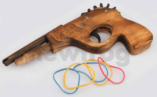 Gummibandpistole, Gummi Pistole Band , schießen, gadget , gadget-welt , gadgets , gadgetwelt , gadgetwelt.de , geschenkidee , schnäppchen