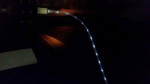 Test China, LED Kabel, Gadgets, Ladekabel USB LED, Smartphone Micro USB LED