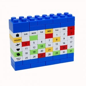 china-gadgets , chinagadget , chinagadgets , ewiger Kalender in Lego-Optik , gadget-welt , gadgetwelt , geschenkidee , Shop Gadget Gadgets China günstig Geschenke für Frauen , kostenloser Versand günstig