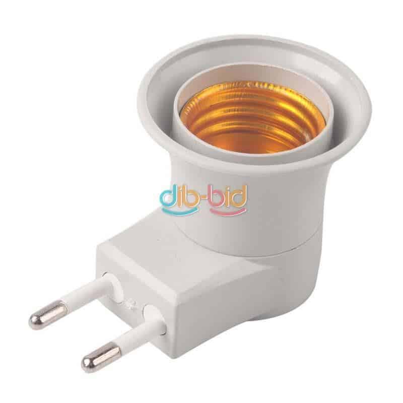 nachtlicht extrem e27 auf steckdose adapter mit eingebautem schalter f r nur 1 28 euro gratis. Black Bedroom Furniture Sets. Home Design Ideas