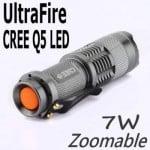 UltraFire Taschenlampe günstig, bester Preis Preissuchmaschine, Gadget Gadgets, China-Gadgets, Chinagadget , CREE Q5 LED Taschenlampe , günstig Angebot