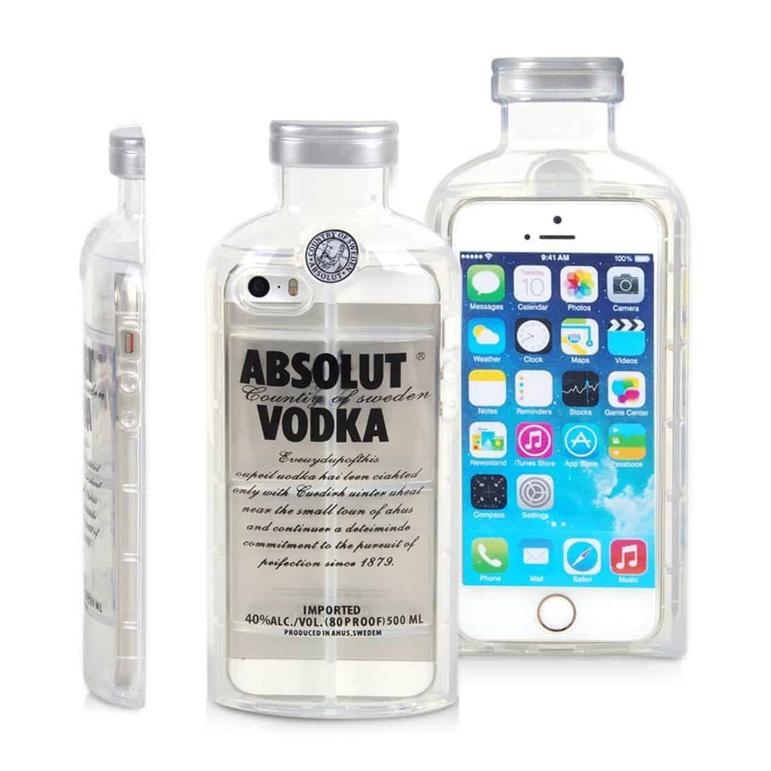 iPhone, Case Cover , TPU iPhone, Absolut Vodka iPhone, Gadgets China, China Gadget
