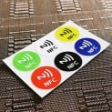 NFC Sticker, NFC Tags, bester Preis, Angebot, bunte NFC Aufkleber, Angebot, PayPal