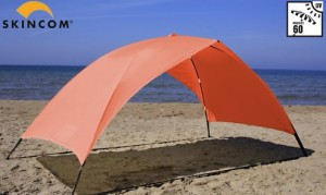sonnensegel skincom easy transportabler sonnenschutz. Black Bedroom Furniture Sets. Home Design Ideas