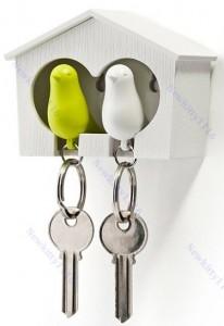 vogelhaus Schlüsselanhänger, vogelhäuschen schlüsselkasten