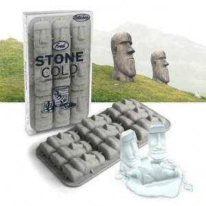 moai Eiswürfel, stein eiswürfel