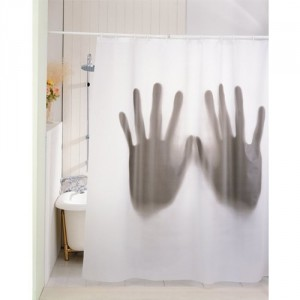 hände duschvorhang