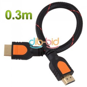 hdmi kabel vergoldet, hdmi 30cm, kurz hdmi kabel