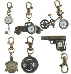 miniuhr pendant, schlüsselanhänger ihr