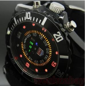 led anzeige Armbanduhr