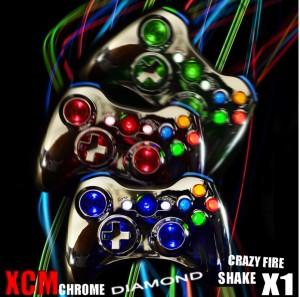 xcm x1, led controller xbox, led controller, led xbox 360, highend controller xbox 360, xbox 360 modding controller