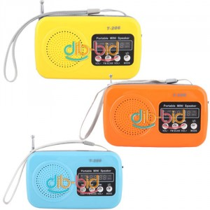 transistorradio, portabel mp3 payer, portabel miniradio