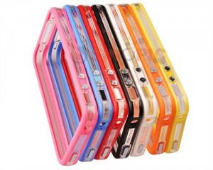 bumper iphone 4 4s, zweifarbig bumper 4 4s, transparent bumper iphone
