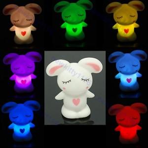 hase led farbwechsel, häschen led, kaninchen led wechsel