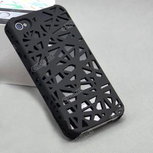 iphone4 cover nest, iphone case vogelnest, schutzhülle iphone 4s schwarz