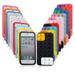 lego cover iphone, schutzhülle iphone4 lego-design