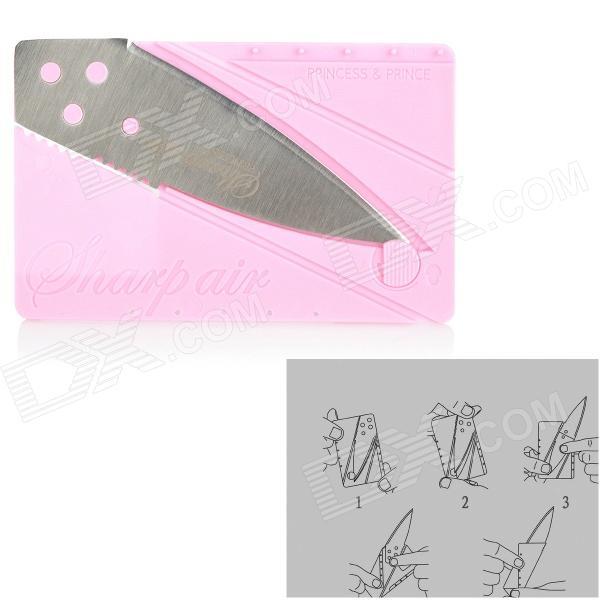 Card Sharp Klon Pink Kreditkartenmesser Fälschung Klon günstig Gadget Gadgets