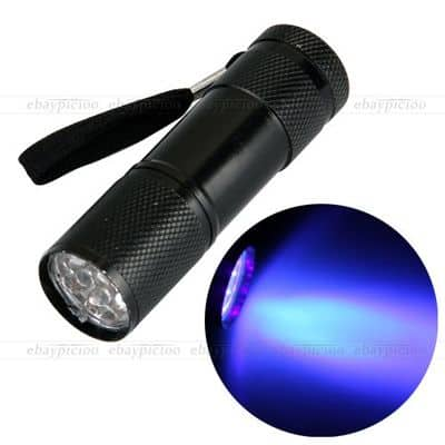 UV-Taschenlampe-Blut-Sperma-Tatort