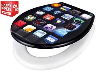 app klodeckel, smartphone wc sitz, wc deckel app design