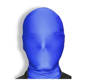 blue man group maske, strumpfmaske morph