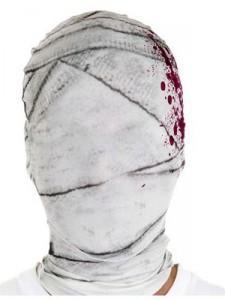 die mumie maske, mimienmaske, stoffmaske überzieher