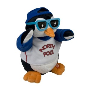 ice ice baby, singender pinguin, rap pinguin plüsch, plüschpinguin