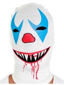 morph maske karneval, fasdchingszeit, faschingsmaske verrückt