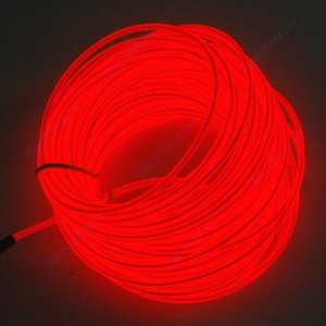 neonkabel, kabel leuchtend neon, bunt kabel auto