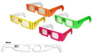 pappe prisma brille, prisma blick sonne