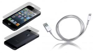 lightning kabel iphone ipad, display schutzfolie iphone 5