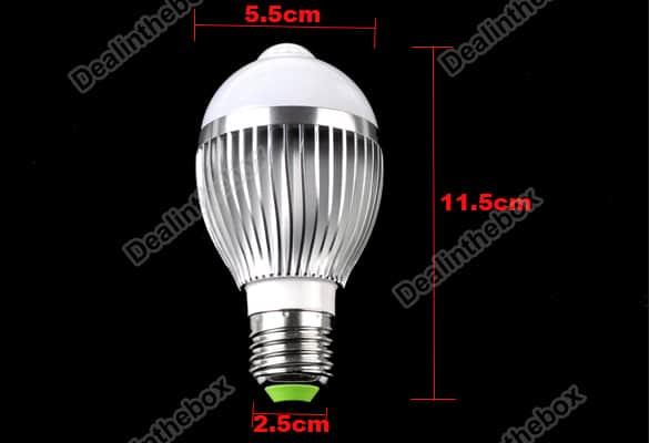 460 Lumen IR Sensor LED 5 Watt günstig bester Preis LED Shop
