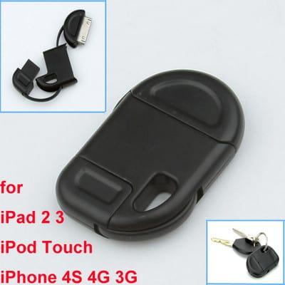 Apple Schlüsselanhänger Ladegerät USB iPhone iPod iPad Gadget Shop bester Preis China