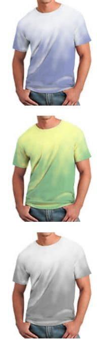 Farbwechsel T-Shirt (temperaturaktiv) in verschiedenen Farben und Größen!