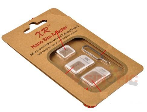 sim karte vergrößern Update] Komplettes Adapter Set zum Vergrößern von Nano oder Micro